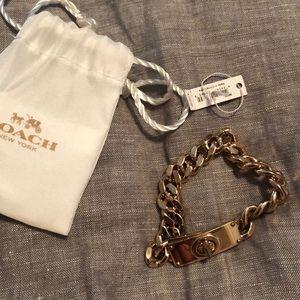 Coach Link bracelet